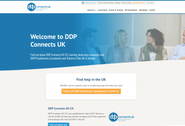 DDP Connects UK web site